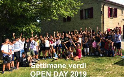 Settimane verdi 2019: open day e incontri